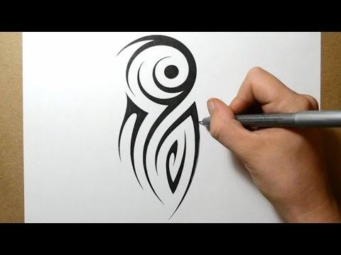 Tribal Half Sleeve Tattoo Design - Idea 3