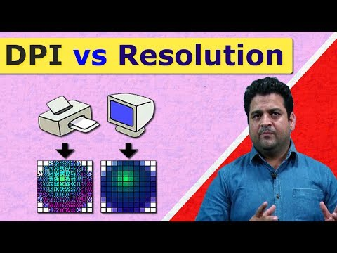 Difference between DPI and Resolution?