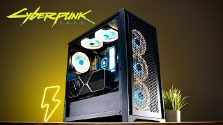 GEWINNE den ULTIMATIVEN CYBERPUNK Gaming PC!! #RTXBuildOff