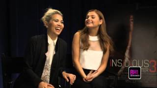 Stefanie Scott & Hayley Kiyoko Exclusive Interview | Insidious: Chapter 3 | Black Hollywood Live