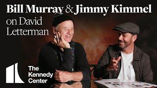 Jimmy Kimmel and Bill Murray on David Letterman