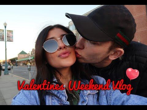 Valentines Weekend Vlog: Travel With Us! // Jasmine Sky
