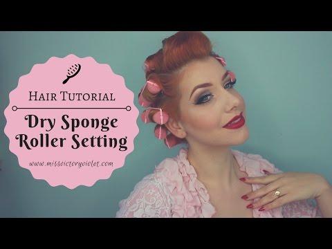 Dry Overnight Sponge Roller Setting Tutorial