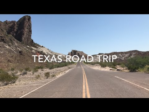 Texas Road Trip (Houston, San Antonio, Austin, Big Bend NP, Dallas) | GoPro