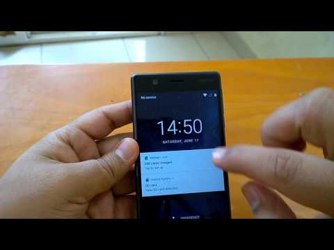Nokia 3: How to insert SIM & SD card and set them up