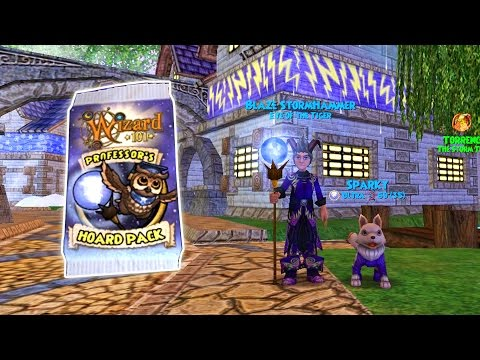 Wizard101: Is Professor's Hoard Pack Gear Good for Storm?