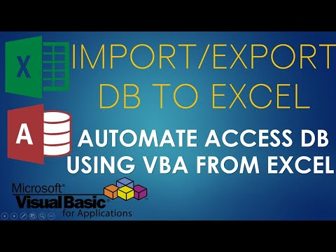 S02E05-Sync or Pull Data from Access Database using VBA