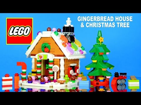 LEGO Gingerbread House 40139 Exclusive & Christmas Tree 30286 Seasonal Sets 2015