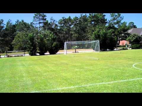 Shost Homemade Soccer Field