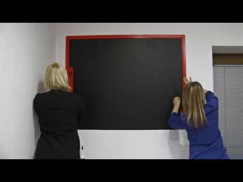 How to make a blackboard? DIY