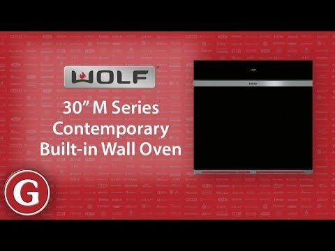 "Product Spotlight: Wolf 30"" M Series Contemporary Built-in Wall Oven - SO30CM"