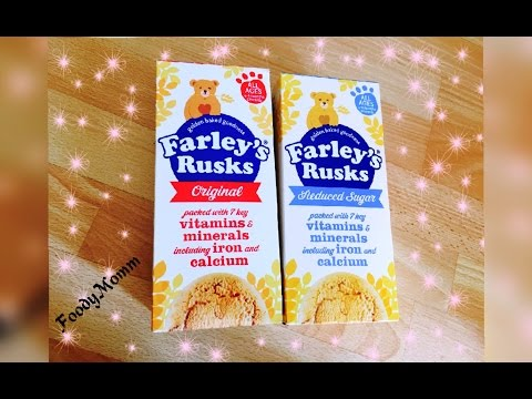 Farley's Rusks -  Baby's First Rusk | FoodyMomm