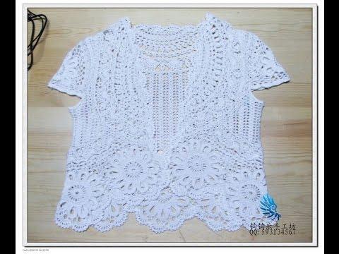 crochet vest  how to crochet vest shrug free pattern tutorial for beginners 2