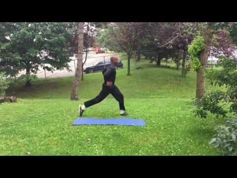Leg Toning Workout Without Weights - Part 2 - CHD