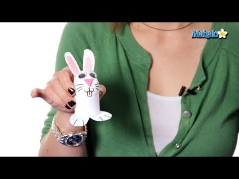 Easter Crafts - Easter Bunny Eggs