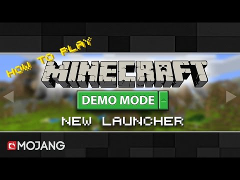Play Minecraft Demo Mode FREE | NEW LAUNCHER 2017 ! ! !