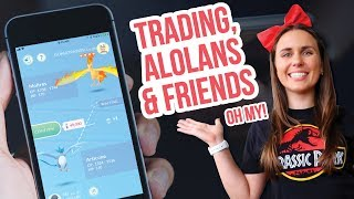 MY THOUGHTS ON TRADING & ALOLANS THIS WEEK! Pokemon GO | ZoeTwoDots