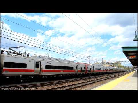 MNCR/Amtrak NEC: A few trains at Port Chester, NY RR