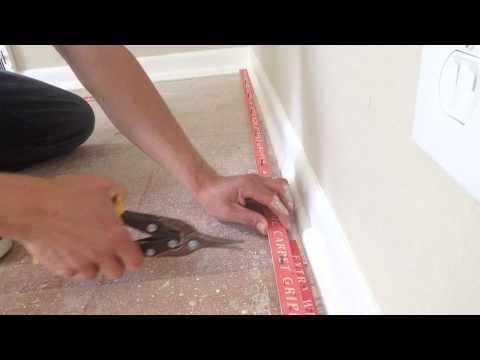 How to install carpet tack strip carpettoolz.com