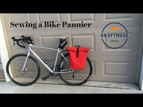 Sewing A Bike Pannier - Kraftmade
