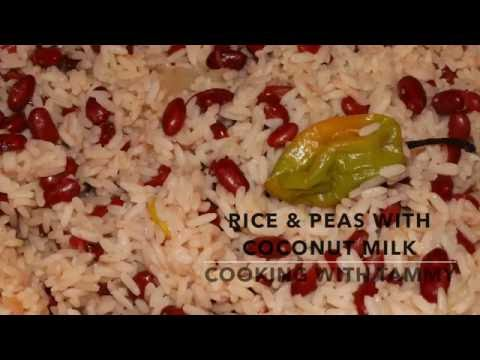 Rice And Peas With Coconut Milk
