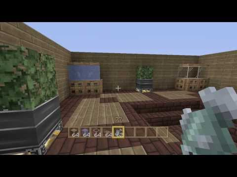 Minecraft Xbox & PS3 - How To Build A Fish Tank