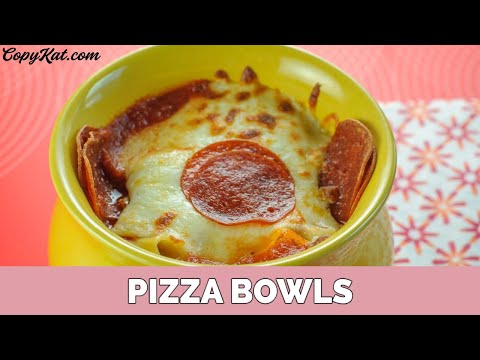 Prego Pasta Sauce Pizza Bowls