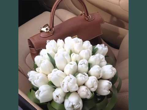 White Tulips Bouquet | Beautiful White Folwers Images