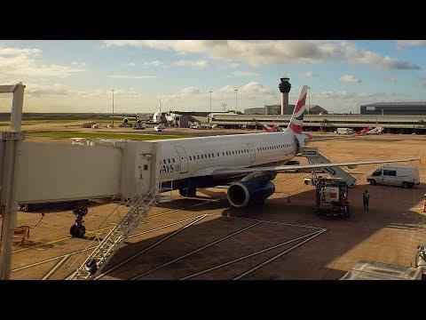 British Airways Airbus A321-231 Manchester to London Heathrow | Full Flight