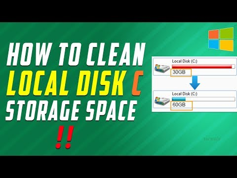 How to Clean Local Disk C when its FULL | No Need to Delete User Data