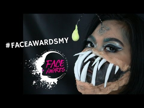 Angler fish makeup tutorial | NYX FACE AWARDS MALAYSIA 2017 |