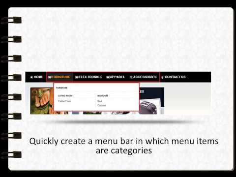 Magento Mega Menu ( Magento Menu Navigation ) - Reviewed