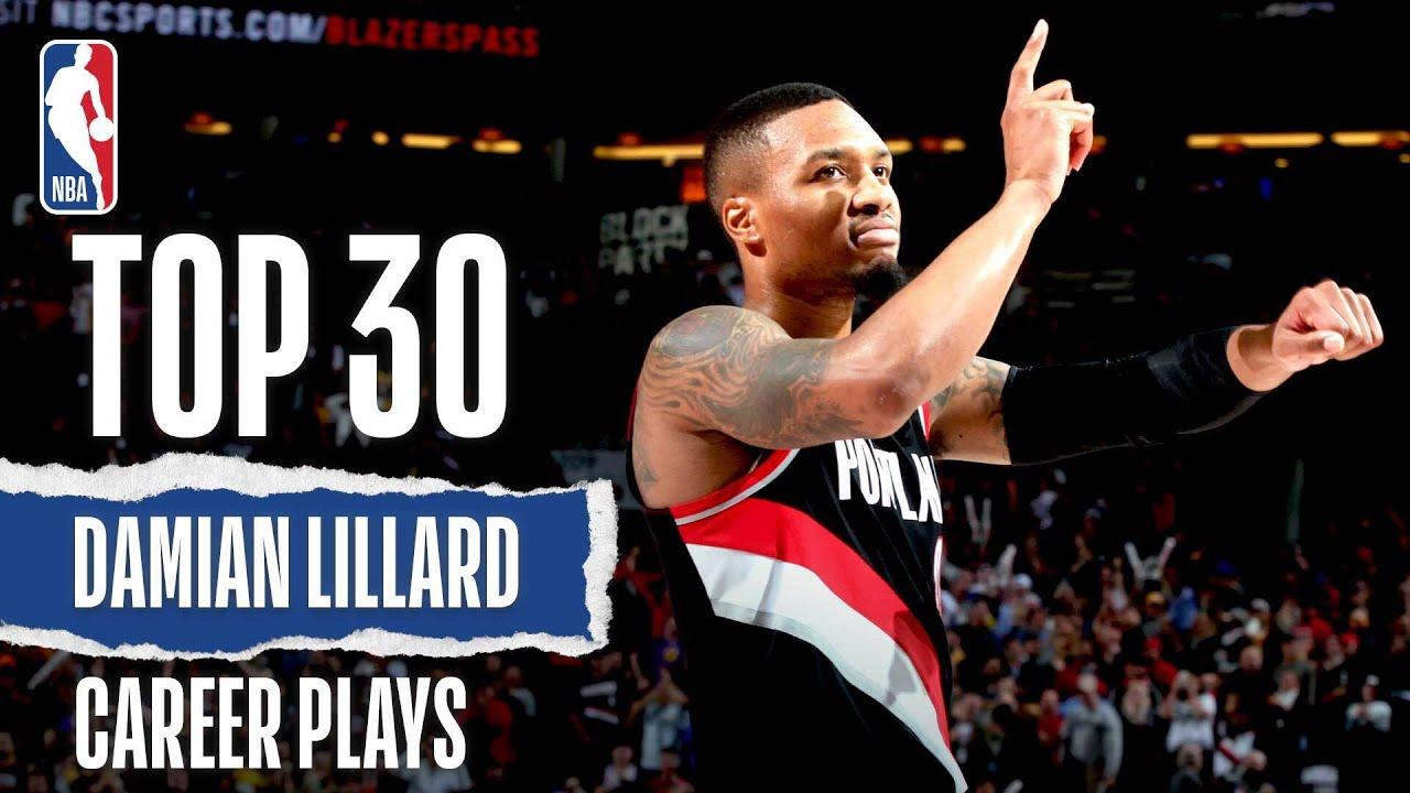 Damian Lillard's Top 30   Career Plays