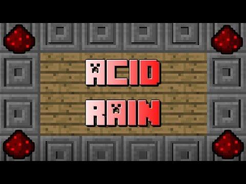 ACID RAIN! - Minecraft Mapmaking Tutorial