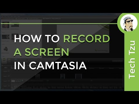 How to Record a Screen in Camtasia
