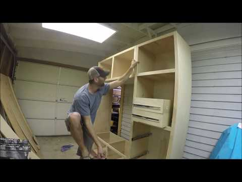 How To Build A Kitchen Pantry PT.4 | THE HANDYMAN |