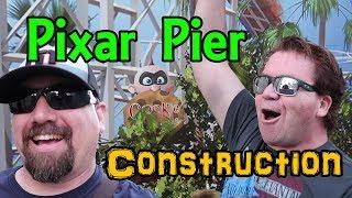 Pixar Pier Construction Update  Disney California Adventure Disneyland Resort (2018)