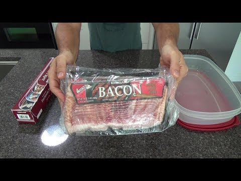 Frozen to cooked bacon in 3 minutes part 1