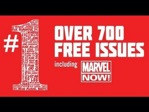 Free Marvel Comics on Comixology