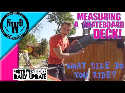 How To Measure A Skateboard