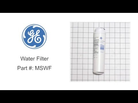 General Electric Water Filter Part #: MSWF