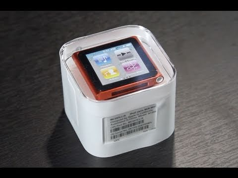 iPod Nano 6G Unboxing and Review (PRODUCT) RED