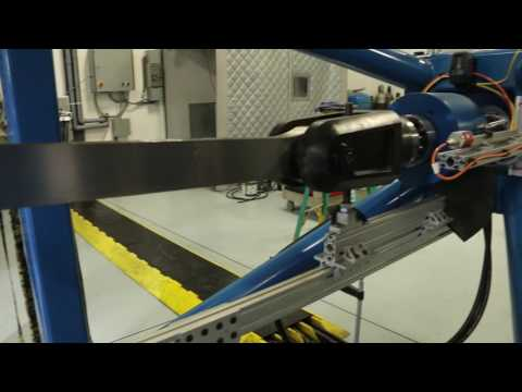 206B Main Rotor Blade Section Fatigue Test