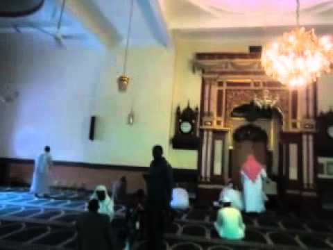 Inside the Mosque in Nairobi Kenya