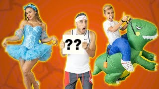 RATING My WIFE & SON'S HALLOWEEN OUTFITS! WHO WILL WIN??   The Royalty Family