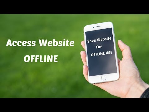 how to save any website page for offline use on iPhone iPad
