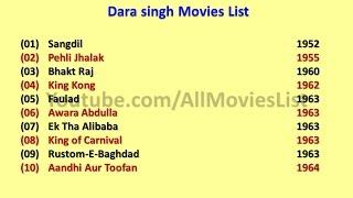 Dara Singh Movies List