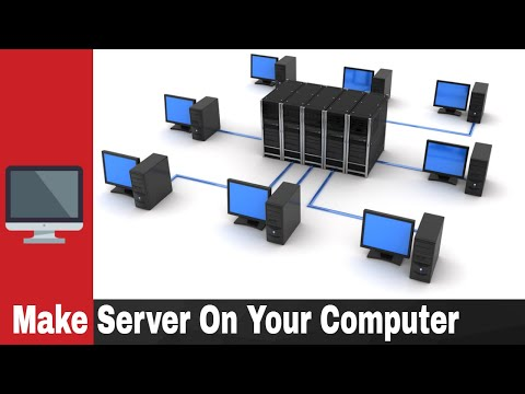 How to Make a Web Server at Your PC Without Any Software in Hindi | Build Website and Publish