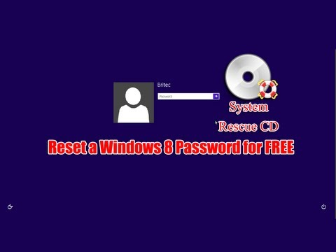 Reset a Windows 8 Password for FREE