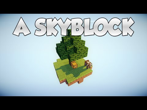 Minecraft Plugin: A Skyblock! (Shop, Ranks, Challenges, GUI for commands) | Tutorial